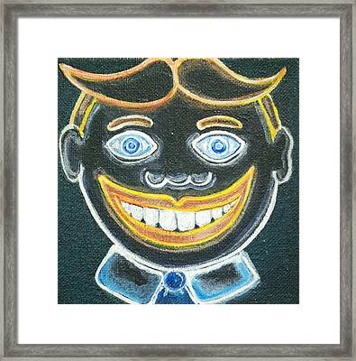 Glow In The Dark Tillie Framed Print by Patricia Arroyo