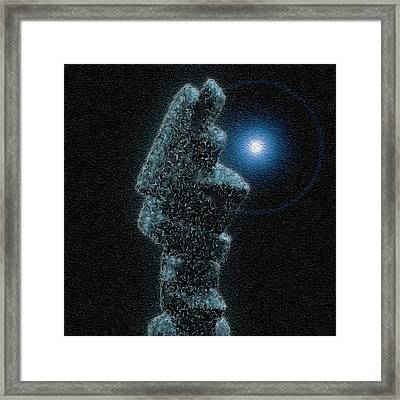 Glow Framed Print by Jack Zulli