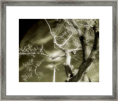 Glow Sky Framed Print by Gothicolors Donna Snyder
