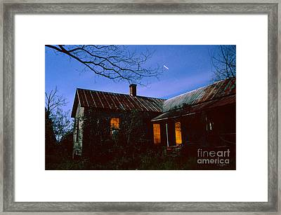 Glowing On The Inside Framed Print by Craig Dykstra