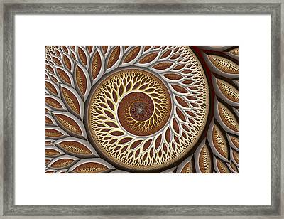 Glynn Spiral No. 2 Framed Print by Mark Eggleston