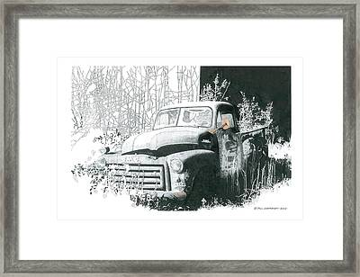 GMC Framed Print by Paul Shafranski