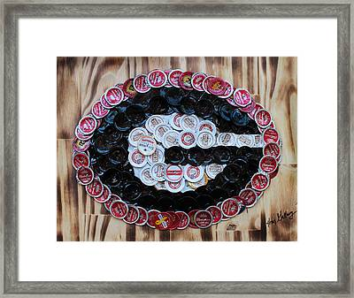 Go Dawgs  Framed Print by Kay Galloway