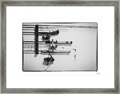 Go Fish - Art Unexpected Framed Print by Tom Mc Nemar