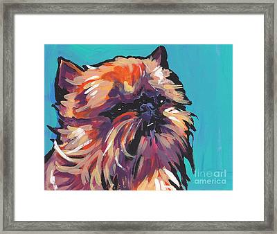 Go Griff Framed Print by Lea S