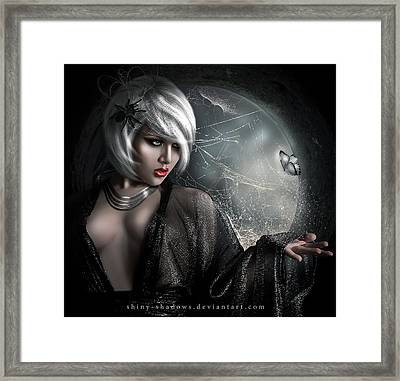 Go If You Could Framed Print by Hedieh Arts