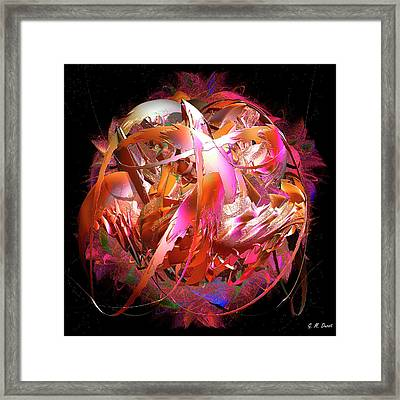 Go Inside And Play Framed Print by Michael Durst
