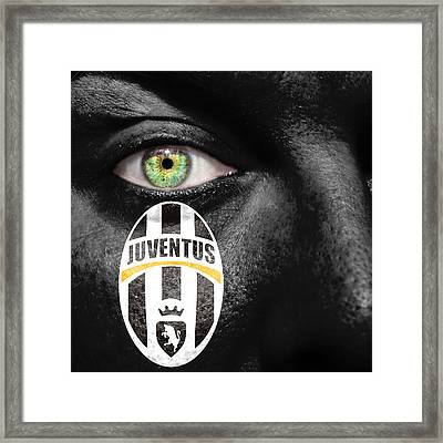 Go Juventus Framed Print by Semmick Photo