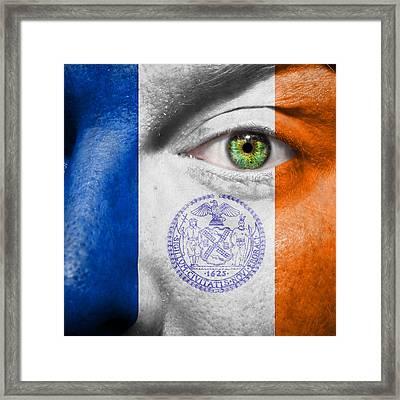 Go New York City Framed Print by Semmick Photo