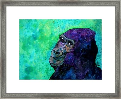 Go Sit In Time Out Framed Print by Debi Starr