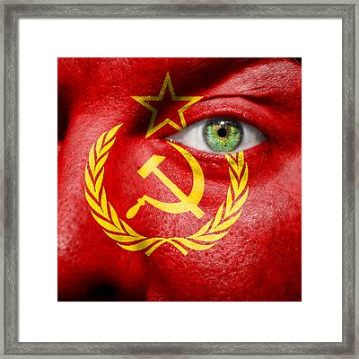 Go Ussr Framed Print by Semmick Photo