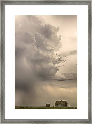 Gobbled Up By A Monster Storm Framed Print by James BO  Insogna
