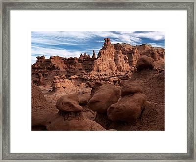 Goblin Valley 11 Framed Print by Leland D Howard