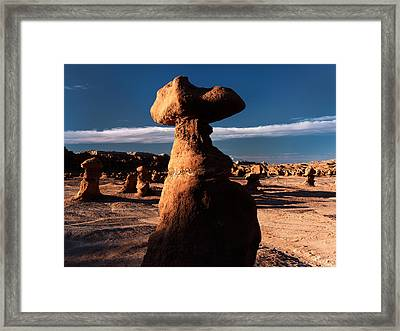 Goblin Valley 5 Framed Print by Leland D Howard