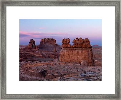 Goblin Valley 6 Framed Print by Leland D Howard