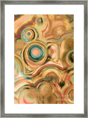 God Is Able Framed Print by Mark Lawrence