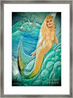 Goddess Atargatis 1000 Bc Framed Print by Gary Keesler