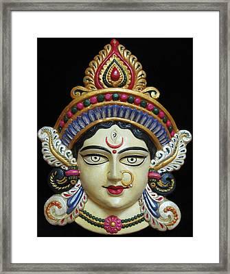 Goddess Durga Framed Print by Sayali Mahajan