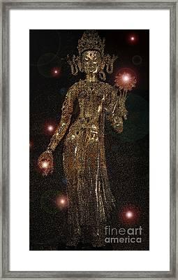 Goddess Magic By Jrr Framed Print by First Star Art