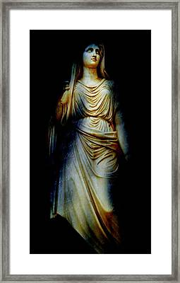 Goddess Of The Night Framed Print by Diana Angstadt