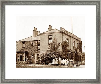 Godfrey Walker Convalescent Home Conisbrough England Framed Print by The Keasbury-Gordon Photograph Archive