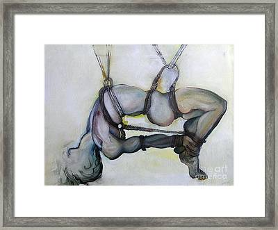 Gods And Men Framed Print by Carolyn Weltman