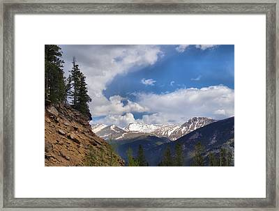 God's Country Framed Print by Dan Sproul
