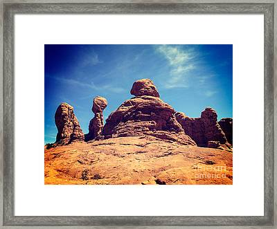 God's Garden Framed Print by Colin and Linda McKie