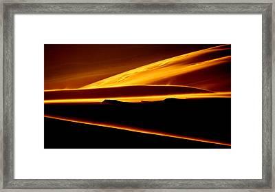 God's Light.. Framed Print by Al  Swasey