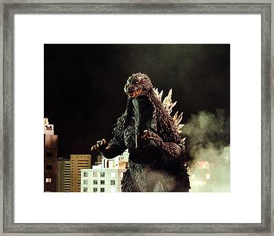 Godzilla, King Of The Monsters!  Framed Print by Silver Screen