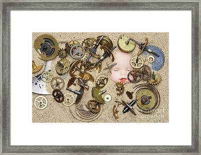 Gof Of Time Framed Print by Michal Boubin