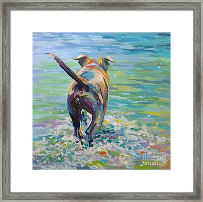 Going Fishing Framed Print by Kimberly Santini