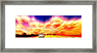 Going For A Ride Framed Print by Paulo Guimaraes