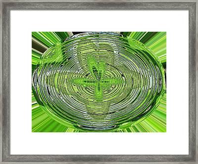 Going Green Framed Print by Ella Char