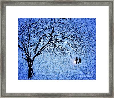 Going Home Framed Print by Edmund Nagele