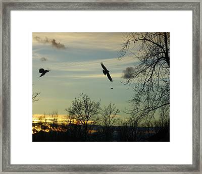 Going Home Framed Print by Gothicolors Donna