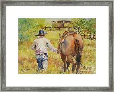 Going Home Framed Print by Summer Celeste