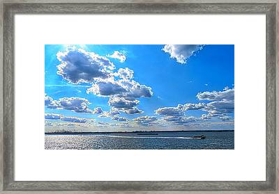 Going Home Framed Print by Terry Wallace