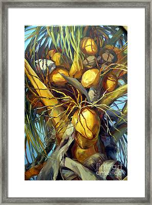 Going Nuts Framed Print by Laurie Hein