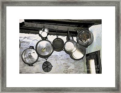 Going Potty Framed Print by Eleni Mac Synodinos