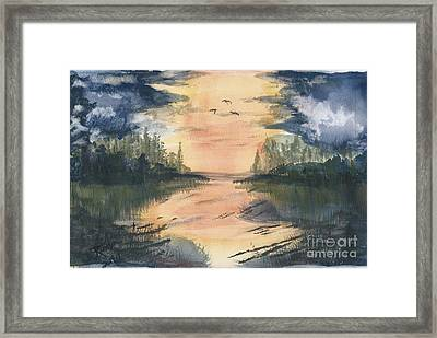 Going South  Framed Print by Reed Novotny