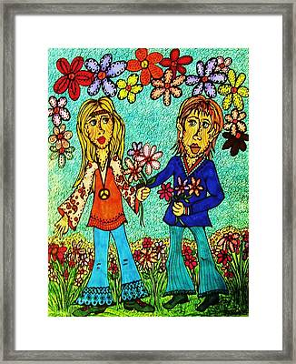 Going Steady  Framed Print by Gerri Rowan
