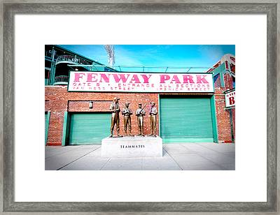 Going To The Park Framed Print by Greg Fortier