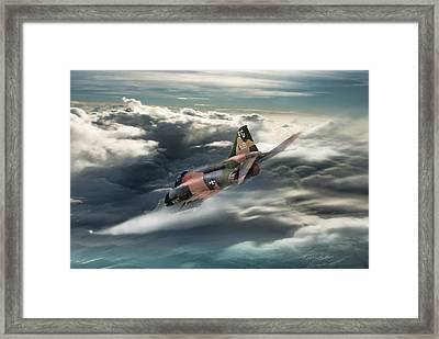 Going To Work Framed Print by Peter Chilelli