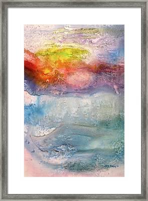 Going Under Framed Print by Kris Parins