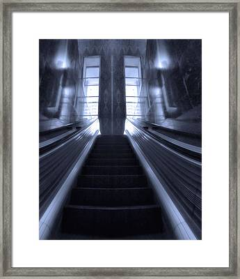 Going Up Framed Print by Dan Sproul