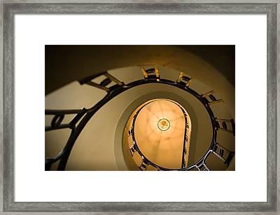 Going Up Framed Print by Sebastian Musial