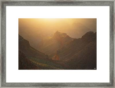 Gold Canyon Framed Print by Peter Coskun