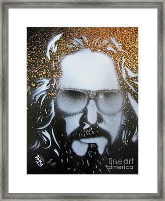 Gold Dude  Framed Print by Christopher  Chouinard