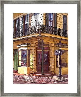 Gold Mine Saloon  Framed Print by John Boles